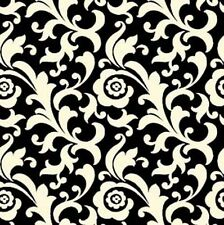 FABRIC Quilting Treasures ~ SO CHIC ~ by Waverly (23925 J) Black  - by 1/2 yard