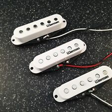 Warman Texas Triple Hots single coil pickups - flat poled set
