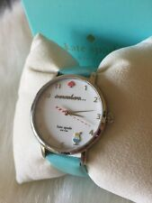 Kate Spade Women's Metro Watch KSW1104 Happy Hour 5 O'Clock Somewhere Turquoise