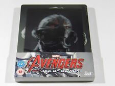 Avengers Age of Ultron (3D+2D) Blu-ray Steelbook [UK] OOS/OOP REGION FREE