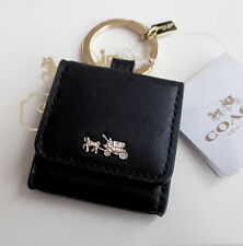 NWT Coach Horse Carriage Picture Photo Frame Key Fob Chain Keychain Charm