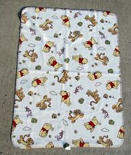 Disney Winnie The Pooh Bear Tigger Piglet Fleece Throw Blanket Baby Shower Gift