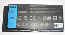 batteria ORIGINALE DELL Precision M4600 M4700 M6600 M6700 97Wh FV993 originale