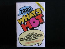 1988. What's Hot. Cassette Tape. Divinyls Kylie Minogue Pat Benatar UB40 Big Pig
