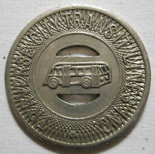 Traverse City Transit Lines (Michigan) transit token - MI930B