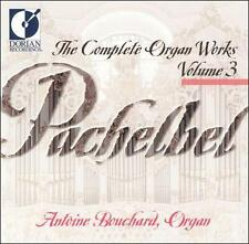 Pachelbel: Organ Works Volume 3, New Music