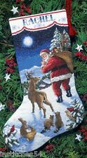 Dimensions Christmas Cross Stitch Kit  Santas Arrival Stocking