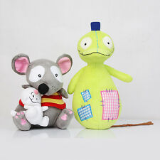 """Set New TOOPY 9"""" And BINOO 4"""" & PATCHY PATCH 12"""" Animal Plush Soft Doll Toy Gift"""