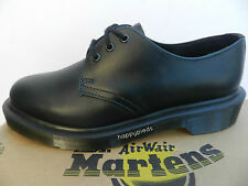 Dr Martens 1461 pw Chaussures 36 Mocassins Brando Derby Richelieu 3 eye UK3 Neuf