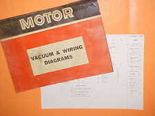 1967 1968 1969 1970 FORD FALCON FUTURA SPORT COUPE WAGON VACUUM+WIRING DIAGRAMS