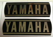 YAMAHA RXS100 ENGINE CASING RESTORATION DECALS X 2