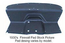 1933 1936 Reo Car Firewall Pad