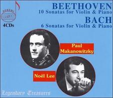Complete Violin Sonatas of Beethoven & Bach, New Music