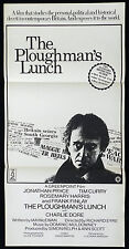 PLOUGHMAN'S LUNCH 1983 Jonathan Pryce VINTAGE Daybill Movie poster