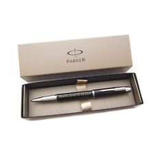 Personalised Engraved Parker IM Black Chrome Trim Rollerball Pen - Great Gift