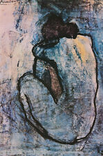 POSTER :ART: BLUE NUDE by PABLO PICASSO - FREE SHIPPING !! #AP626    RC49 A