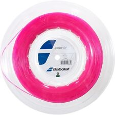 BABOLAT SYNTHETIC GUT 1.25mm/17g Rosa Tennis Stringa 200m-GRATIS UK P & P