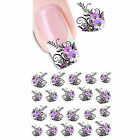 New Nail Art Sticker Water Transfer Stickers Flower Decals Tips Decoration.