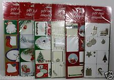 32PC PEEL AND STICK HOLIDAY GIFT TAGS CHRISTMAS ASSORTED STYLES TARGET