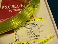 Clear Yellow Fuel Line,1/8 X 1/4,.125X.250,Craftsman,Ryobi,Poulan,Weedeater-2 Ft