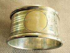 Sterling Sillver British Hallmarked Serviette Ring 1921.