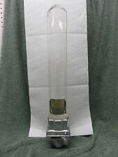 Vintage Dixie Vortex Paper Cone Cup Dispenser Complete  Wall Mount Works Glass