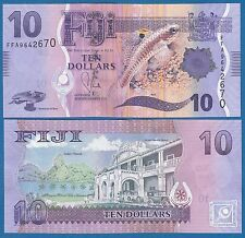 FIJI 10 Dollars P 116 a ND (2013) UNC Low Shipping! Combine FREE! (P-116a)