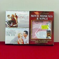 Rodgers & Hammerstein South Pacific King & I DVD Set Sinatra CD Musicals Movies