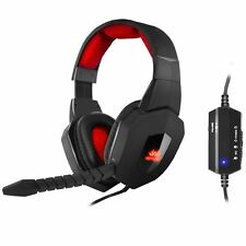 SUMVISION Nemesis AKUMA USB 7.1 Surround Sound Wired Cuffie Gaming-PC / Laptop
