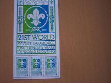 UNION ISLANDS,2007,21ST SCOUT JAMBOREE,SHEETLET,U/M,EXCELLENT.