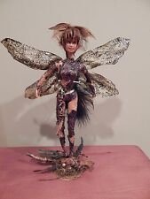 Queen of the Fairies OOAK CUSTOM BARBIE DOLL Fairy Pixie MYTHOLOGY fantasy
