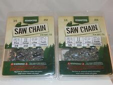 "2 Pack 20"" Forester 3/8 .050 Husqvarna 262 XP Chainsaw Chain Full Chisel"