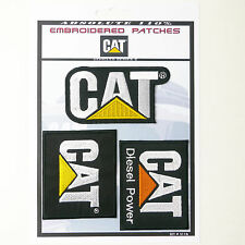 CAT / CATERPILLAR DIESEL POWER Iron-On Patch Super Set #116 - FREE POSTAGE!