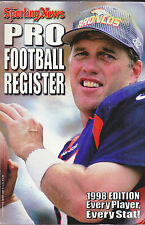1998 THE SPORTING NEWS NFL FOOTBALL REGISTER - BRONCOS ELWAY ON COVER