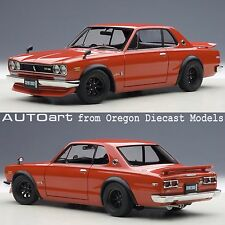 AUTOart 77444 1/18 Nissan Skyline GT-R (KPGC10) Tuned Version Red