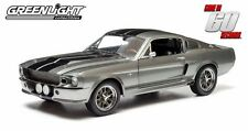 "GREENLIGHT GONE IN 60 SECONDS 1967 FORD MUSTANG 1/18 ""ELEANOR"""