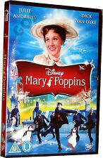 Mary Poppins Classic Walt Disney Film Kids Childrens Movie DVD New Sealed