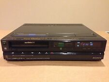 SONY Beta-BETAMAX SL-HF400 VCR Video Cassette PLAYER/RECORDER Tested AS IS Read.