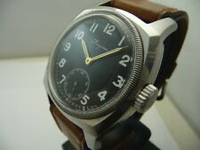 "LONGINES MILITARY  ""1935"" Czecho AIRFORCE RARE ENAMEL DIAL  CAL. 15.94"