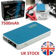 LUNEX 7500mAh 12V Car Jump Starter Pack Booster Charger Battery Mini Power Bank