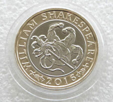 2016 - £2 - WILLIAM SHAKESPEARE - COMEDIES  = TWO POUND COIN UNCIRCULATED