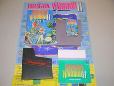 DRAGON WARRIOR II 2 (Nintendo NES) Complete CIB