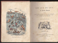 Rattlebrain and Phiz - Sir Guy De Guy - 1st Ed 1864, with Original Illustrations