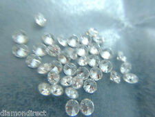 0.116 cts total lot of 5  loose natural G-H-I VS-SI round diamonds 1.80-1.90 MM
