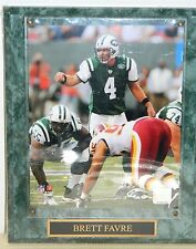 Brett Favre #4 NY Jets Official NFL Licensed Photo File Plaque 2008 New in Wrap
