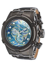 New Invicta Reserve 53mm Bolt Zeus Swiss Chronograph Leather Strap Watch 15969