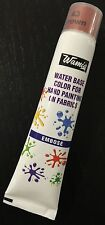 WamiQ 20ml WATER BASED FABRIC EMBOSS PUFFY PAINT COLORS TUBES CHOICE OF 15 COLOR