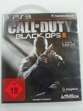 !!! PLAYSTATION PS3 SPIEL Call of Duty Black Ops II , USK18, GUT !!!