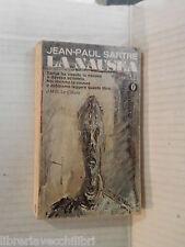 LA NAUSEA Jean Paul Sartre Paolo Caruso Bruno Fonzi Mondadori Oscar 1972 romanzo