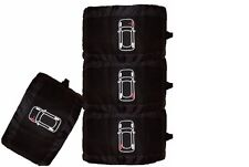 Cosmos Wheel and Tyre Cover Set (4) Black 10313 Winter Tyre Storage Bags